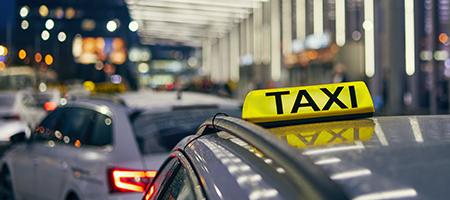 Trajet en taxi vers la gare près d'Arras et Douai